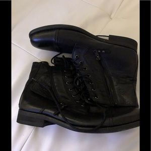 Kenneth Cole Combat Boots